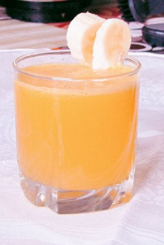 Beverage With Fresh Juice